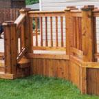 deck sealer cedar color