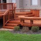 deck- ealer rustic color