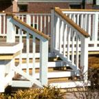 deck sealer two tone color
